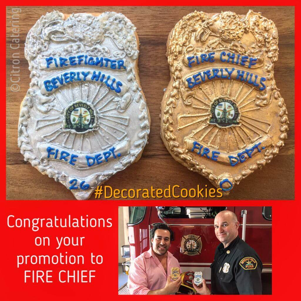 I finally figured out which design to use…CONGRATULATIONS!! Promotion should be as sweet as these #decoratedcookies