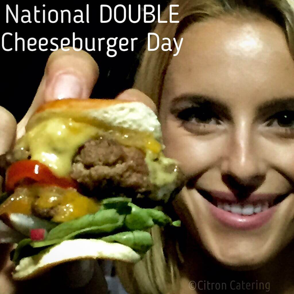 #nationalcheeseburgerday